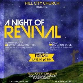 NIGHT OF REVIVAL