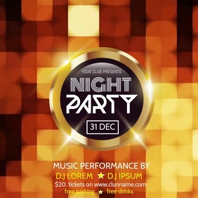 NIGHT PARTY VIDEO TEMPLATE