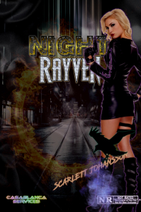 NIGHT RAYVEN Poster template