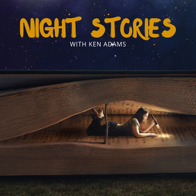 Night Stories Album Cover Template