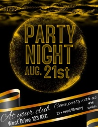 NIGHTCLUB PARTY POSTER/AD/FLYER SOCIAL MEDIA
