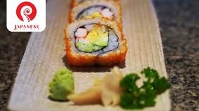sushi Digital Display (16:9) template
