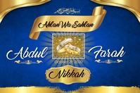 Golden Blue Theme template