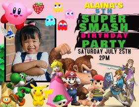 NINTENDO SUPER SMASH BIRTHDAY