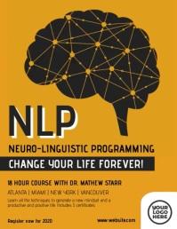 NLP Brain Mindset Course Video Flyer