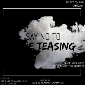 NO EVE TEASING CAMPAIGN