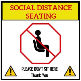 No Seating Document Sign