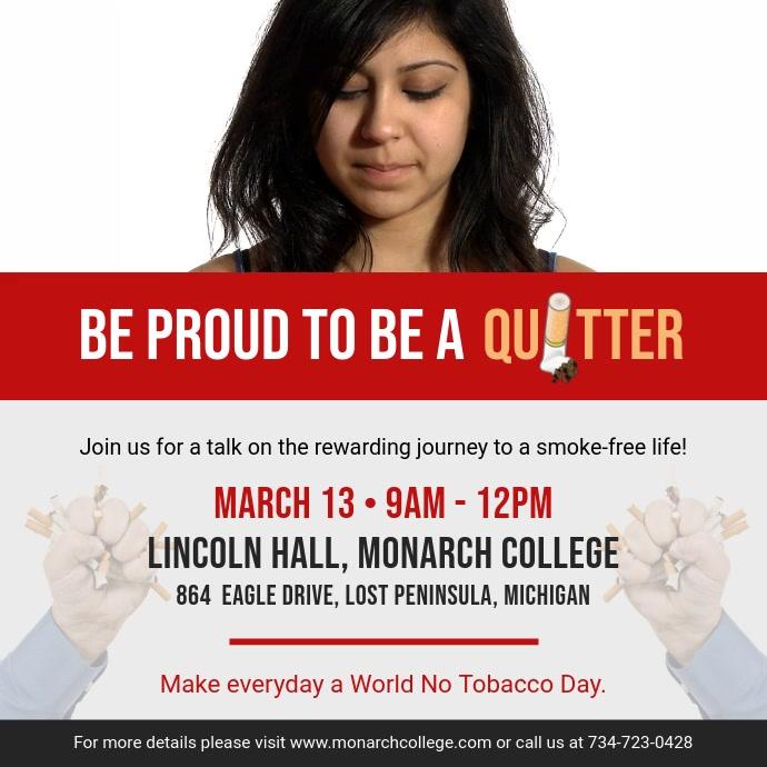 No Smoking Awareness Campaign Video