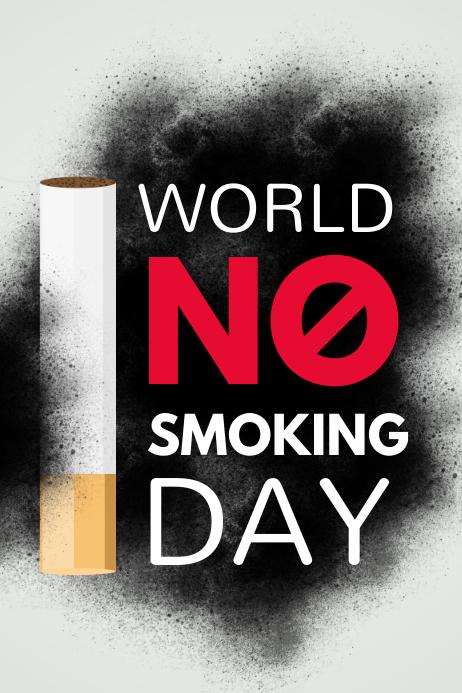No Smoking Day Poster, No Tobacco Day, Smoking kills