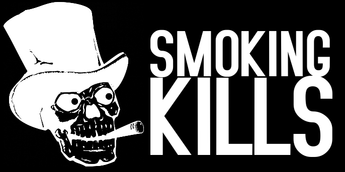 no smoking kills sign twitter post template free