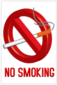 No smoking sign template free