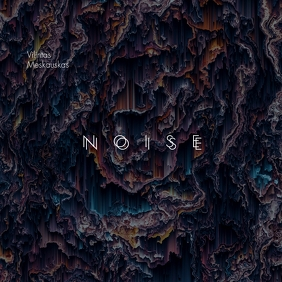 Noise Pattern Texture Error Abstract CD Cover 专辑封面 template