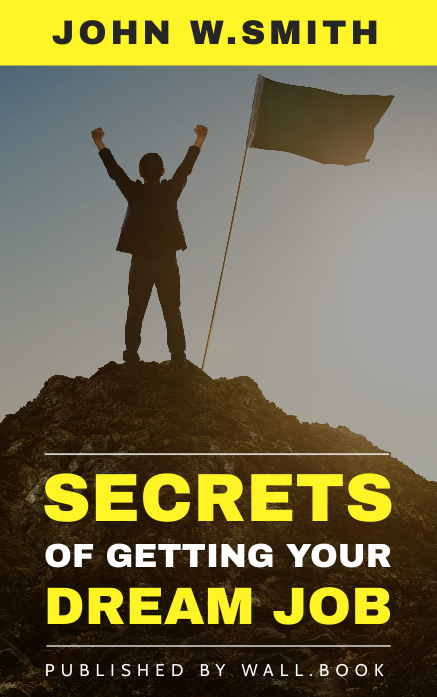 Non-fiction Self-help Book Cover Template