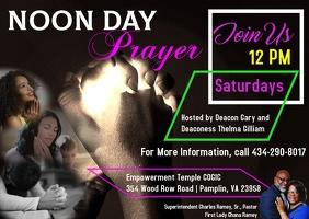 Noon Day Prayer Postcard