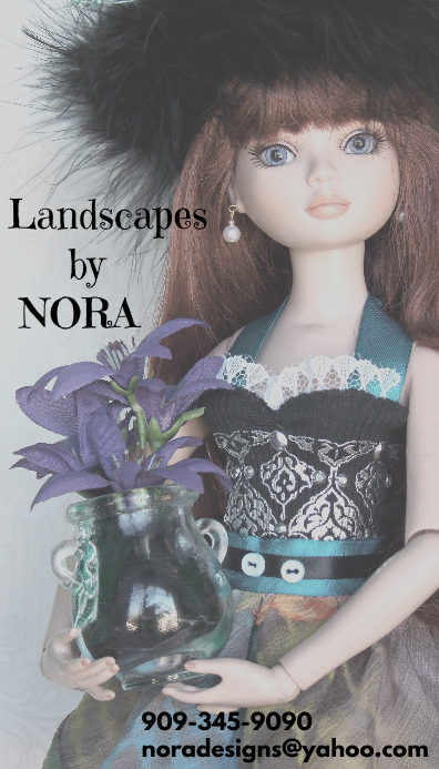 Nora business card