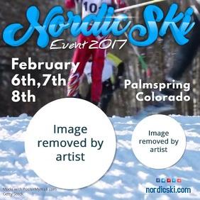 Nordic Ski Event Video Template