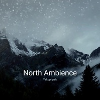North Ambience Winter Snow CD Cover Square (1:1) template