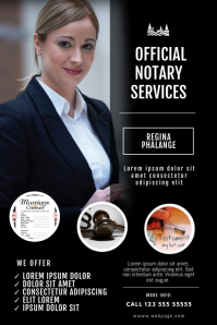 Notary Services Flyer