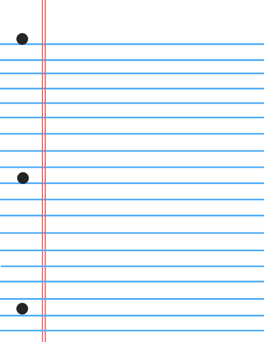 notebook paper background template