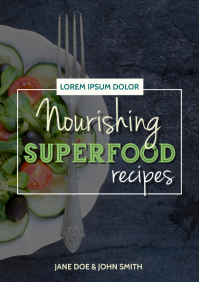 Nourishing SuperFood Recipe Book Cover