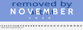 November Calendar Premium Template