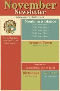 November Newsletter Iphosta template