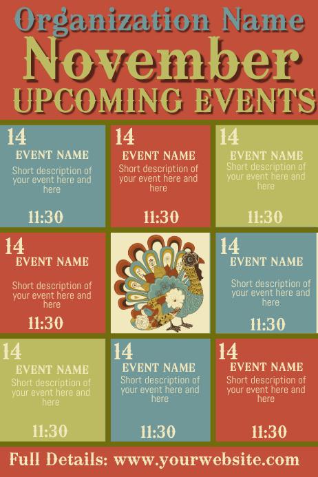 November Upcoming Events