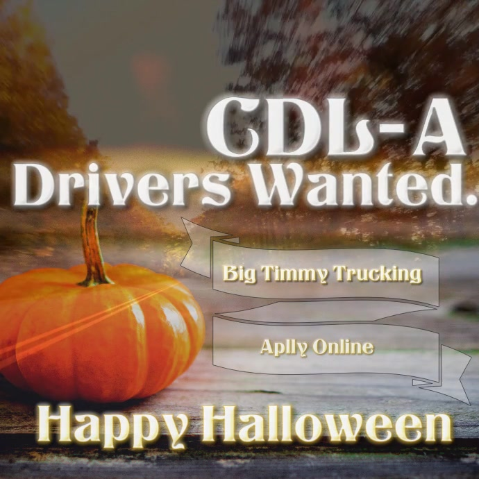 now hiring drivers