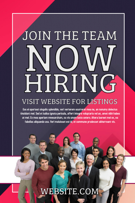 Customize 360 Hiring Poster Templates Postermywall