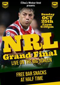 NRL Grand Final A1 template