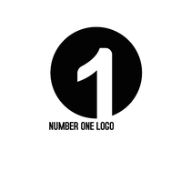 NUMBER ONE LOGO template