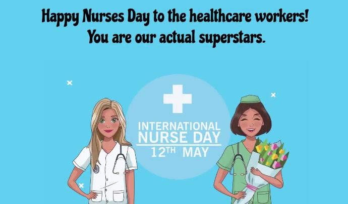 Nurse Day Tag template