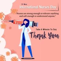 Nurse Day Instagram 帖子 template