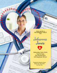 Nurse Doctor RN PA Surgeon Retirement Party