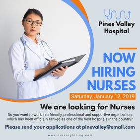 Nurse Recruitment Flyer Template
