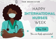 nurses appreciation week 2021 A3 template