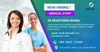 Nurses hiring Facebook ad Facebook-advertentie template