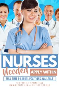 Nurses Needed Poster