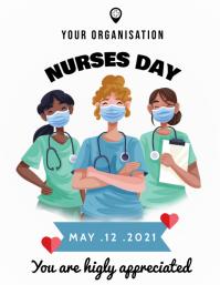 Nurses Week Flyer Pamflet (VSA Brief) template