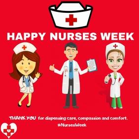 nurses week instagram template