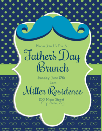 Fathers Day Brunch Invitation