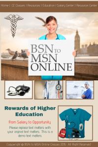 Nursing Education Website Template