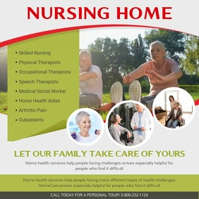 Nursing Home Ad Square Video