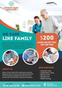 Nursing Home Flyer A4 template
