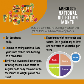 NUTRITION MONTH