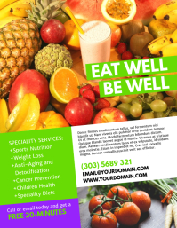Nutritionist Flyer Template