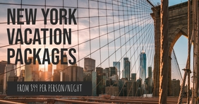 NYC Facebook Shared Image template
