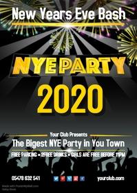 NYE 2017 Bash Poster