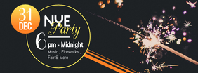 NYE Club Party Facebook Banner