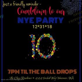 NYE Party Countdown Video
